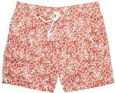 Hartford Faded Floral Mid-Length Swim Short