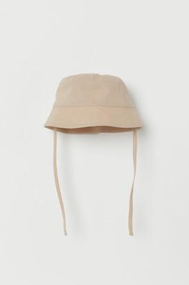 H&M Cotton Sun Hat - Brown