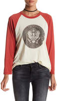 Obey Oil Eagle Raglan Tee