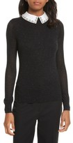 Ted Baker Women's Embellished Collar Sparkle Sweater