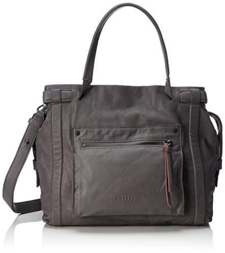Liebeskind Berlin Virginia Sporty, Women's Shoulder Bag, Braun (Street Grey), 42 x 45 14 cm (wxhxd)