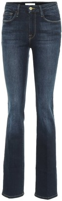 Frame Le Mini Boot mid-rise bootcut jeans