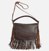 Avenue Fringe Trim Saddle Bag