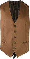 Tagliatore waistcoat - men - Cotton/Cupro - 48