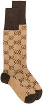Gucci GG Supreme print socks