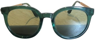 Gentle Monster Green Plastic Sunglasses