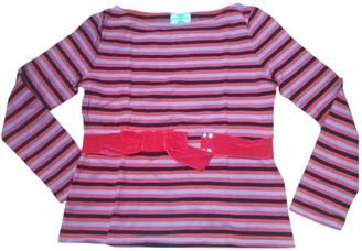 Petit Bateau Red Cotton Knitwear for Women