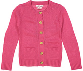 Pink Angel Fuchsia Button-Up Cardigan - Infant Toddler & Girls