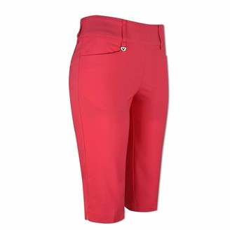 Callaway Ladies Pull-On City Short with Stretch in Virtual Pink-Large