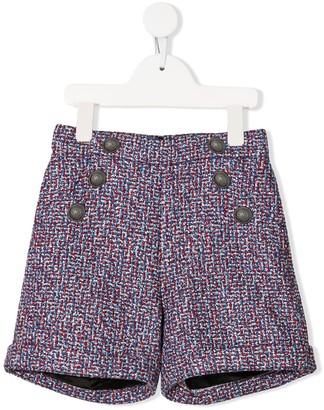 Balmain Kids Tailored Woven Shorts