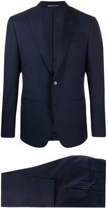 Canali Fitted Two Piece Suit