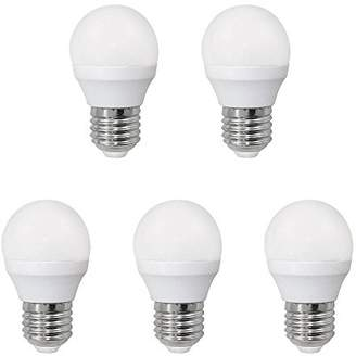 A2BC LED Lighting 554008800600 – Pack of 5 bulbs LED Spherical 6 W Equivalent to 40 W With Cold Light