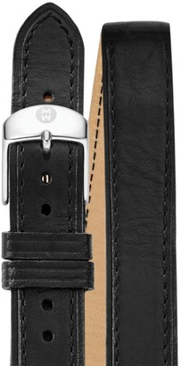 Michele Leather Watch Strap/16MM