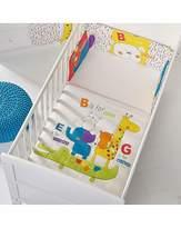O Baby B for Bear Happy Safari Quilt & Bumper