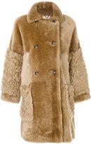 Desa Collection oversized fur coat