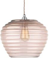 Heathfield & Co Celeste Rose Gold Lustre Pendant Light