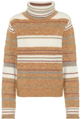 See by Chloe Striped turtleneck sweater