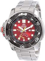 Orient Men's SEL06001H0 M-Force Analog Japanese-Automatic Silver Watch