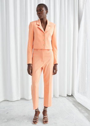 And other stories Cropped Tailored Trousers