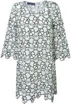 Ungaro flower motif party dress