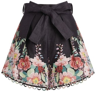 Zimmermann Bellitude Floral Shorts