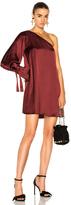 Tanya Taylor Leah Dress in Red.