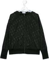 DKNY teen hooded jacket - kids - Polyester - 14 yrs