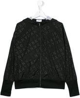 DKNY teen hooded jacket
