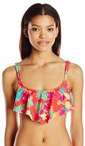 Hobie Women's Tropical Locales Hanky Bikini Top