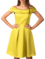 Closet Off The Shoulder Dress, Gold