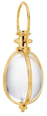 Temple St. Clair Classic Rock Crystal & 18K Yellow Gold Amulet