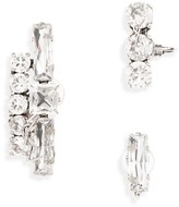 Saint Laurent Women's Set Of 3 Crystal Stud Earrings