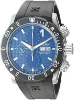 Edox Men's 01122 3 BUIN Chronoffshore-1 Analog Display Swiss Automatic Black Watch