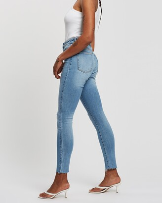 Neuw Women's Blue Skinny - Marilyn Skinny Jeans - Size 28 at The Iconic