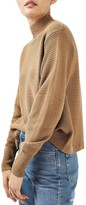 Topshop Women's Mixed Stitch Sweater