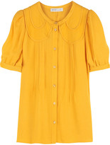 See by Chloé Round collar blouse