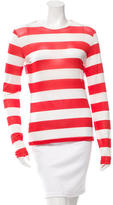 Max Mara Striped Long Sleeve Top