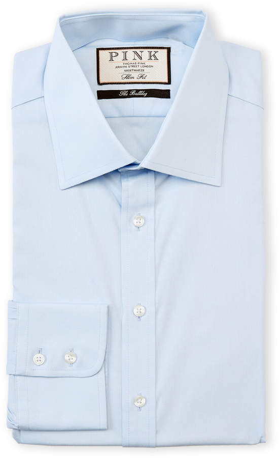 Thomas Pink Weston Solid Slim Fit Dress Shirt
