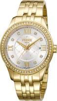Ferré Milano Women's FM1L047M0061 Dial with Gold Plated Band Watch.
