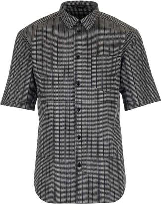 Versace Logo Printed Short Sleeve Shirt