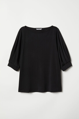 H&M Creped Jersey Top