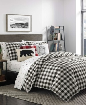 Eddie Bauer Mountain Plaid Comforter Set, Twin