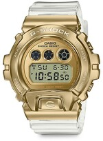 Thumbnail for your product : G-Shock Gold Ion-Plated Stainless Steel & Resin Digital Watch