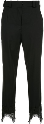 CHRISTOPHER ESBER Icon beaded cuff trousers