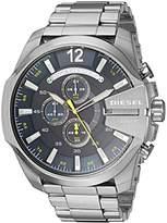 Diesel Men's Mega Chief Stainless-Steel Chronograph Watch DZ4465