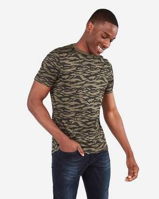 Express Camo Crew Neck T-Shirt