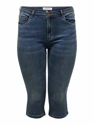 ONLY Carmakoma Women's Caraugusta Life Hw Skinny Knickers MBD Shorts