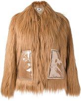 MM6 MAISON MARGIELA faux fur jacket