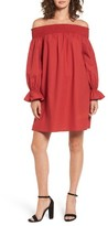 Soprano Women's Off The Shoulder Shift Dress