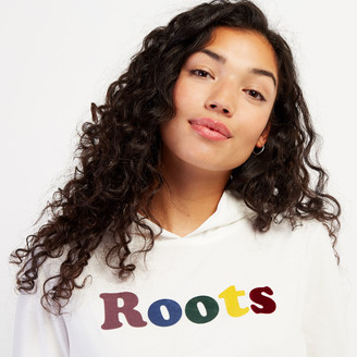 Roots Womens Remix Hooded Long Sleeve T-shirt